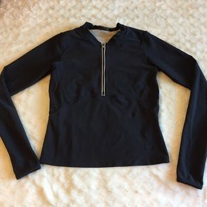 Nike Half Zip Pullover Long Sleeve Shirt Sz Small